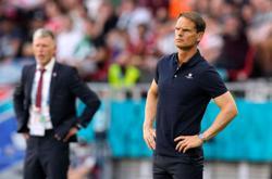Soccer-Frank de Boer quits as Dutch coach after Euro 2020 elimination