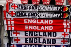 Soccer-England go with three-man defence, Germany start with Werner in attack