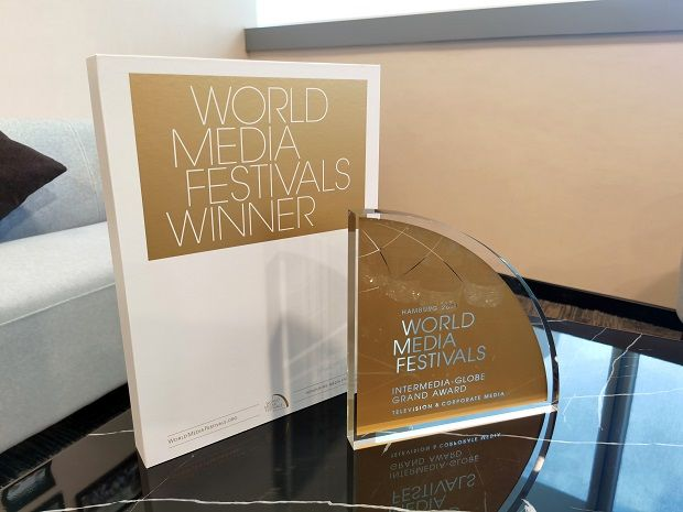 ACE Group's first inspirational short series, Agilan Thani won the grand award in the web videos category of Television & Corporate Media Awards 2021 at the 22nd World Media Festival.