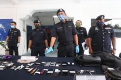 Nabbed: Five suspects who robbed foreign workers