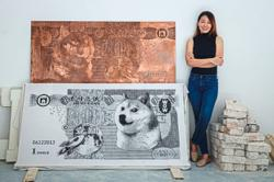 Malaysian artist Red Hong Yi launches first NFT with her own 'Meme Banknotes'