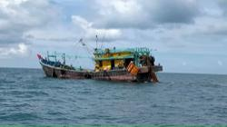 Tanker, trawler detained for illegally anchoring, trawling off Johor waters
