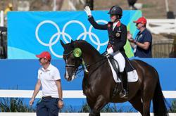 Olympics-Dujardin seeks third individual dressage gold in Tokyo
