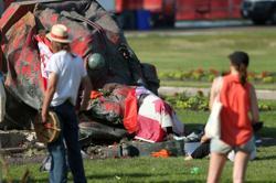 Statues of Queen Victoria, Queen Elizabeth toppled in Canada
