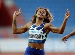 Athletics-Sprinter Richardson suspended for one month after cannabis test, to miss Tokyo 100m event