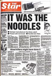 Flashback #Star50: When killer noodles gripped M'sia