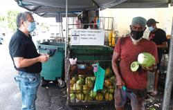 Coconut water a hit after vaccination