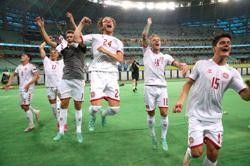 Analysis: Soccer-Exciting Danish strikeforce do damage again to continue dream Euros run