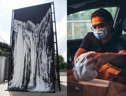 M'sian artist broadens his canvas, takes on bread deliveries to keep afloat