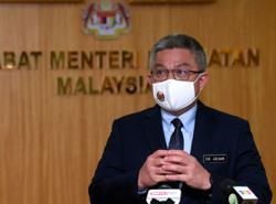 Health Minister visits PPV at KD Sultan Ismail