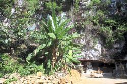 Cave monastery near Chemor fears eviction