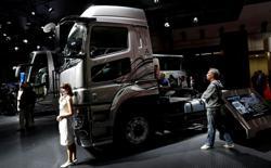 Daimler, Volvo and Traton plan $600 million truck-charging JV