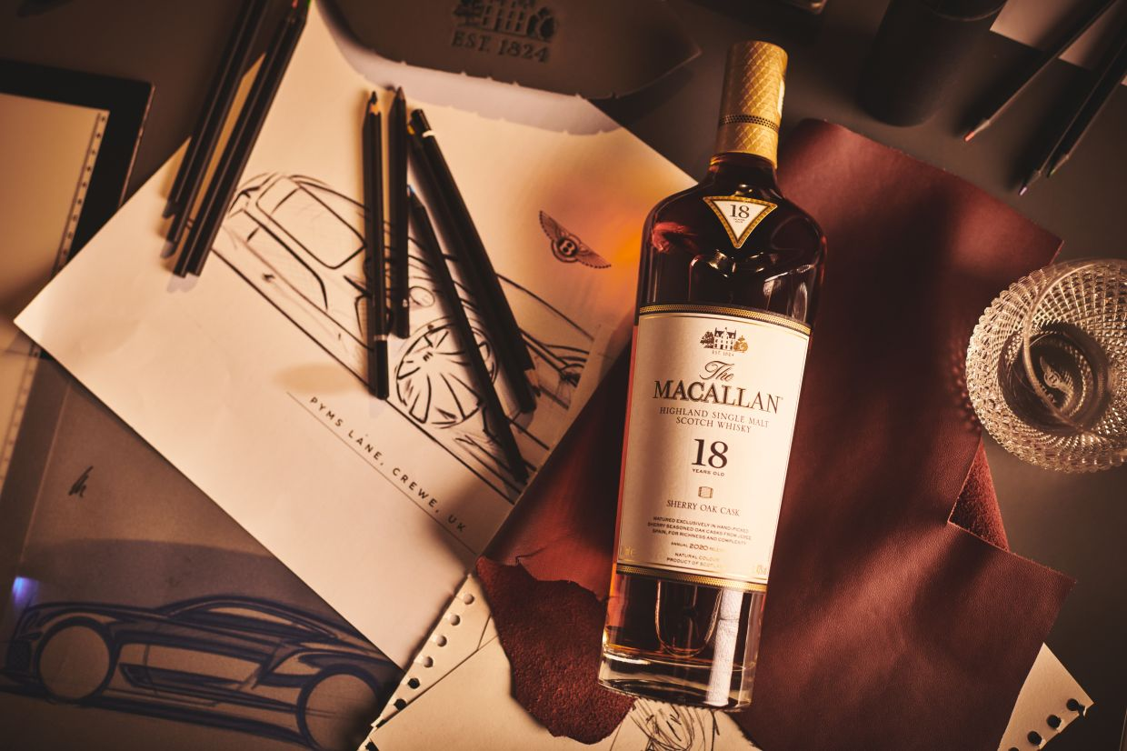 The Macallan and Bentley Motors are working together for a more sustainable future.