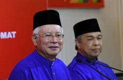 Najib, Ahmad Zahid's move rebuffed by most Barisan Nasional MPs