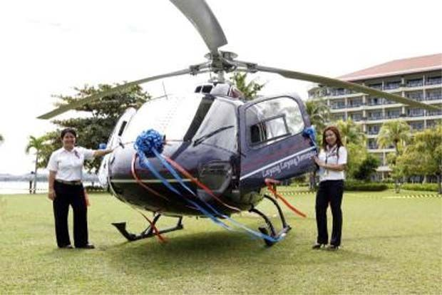 Layang Layang Aerospace's helicopter (file pic)