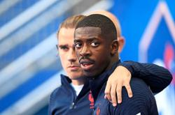 Griezmann, Dembele apologise for video mocking hotel staff