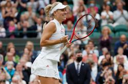 Tennis-Former champion Kerber downs Muchova to set up Barty date