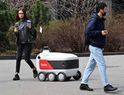 Russian Yandex to launch delivery robots in US