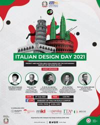 The Embassy of Italy in Kuala Lumpur invites you to join them in a webinar on design and sustainability