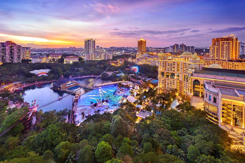 Sunway Resort, with a US$60mil (RM249mil) renovation still underway, will house Ramsay's popular all-day dining restaurant. — Sunway Resort