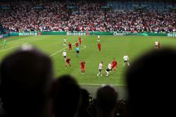 Soccer-Heroic Danes show heart despite fall at final Euro hurdle