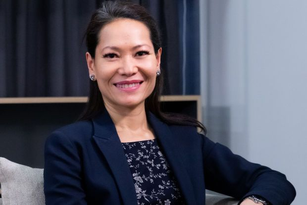 ICDM President Michele Kythe Lim