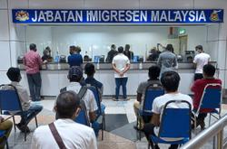 Special counters open at KLIA to facilitate exit of illegal immigrants