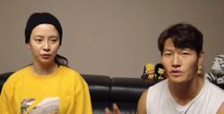 Kim Jong-kook invites Running Man co-star Song Ji-hyo to his YouTube gym