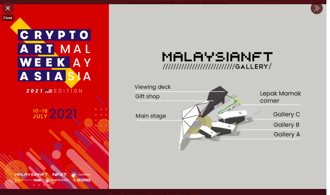 Crypto Art Week Malaysia 2021 features digital works by 29 Malaysian crypto artists and various other programmes.