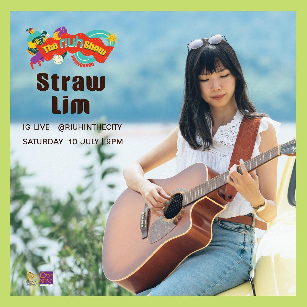 Indie singer-songwriter Straw Lim appears on The Riuh Show on July 10.