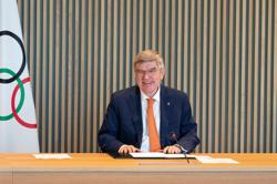 Olympics-We all regret no fans at Tokyo Games, says IOC's Bach