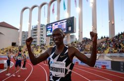 Athletics-Cheruiyot puts Olympic disappointment aside to clinch Diamond League win