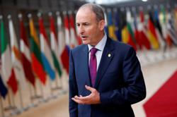 Irish government support slumps in Dublin by-election
