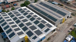 Big savings for MMHE with solar power at shipyard