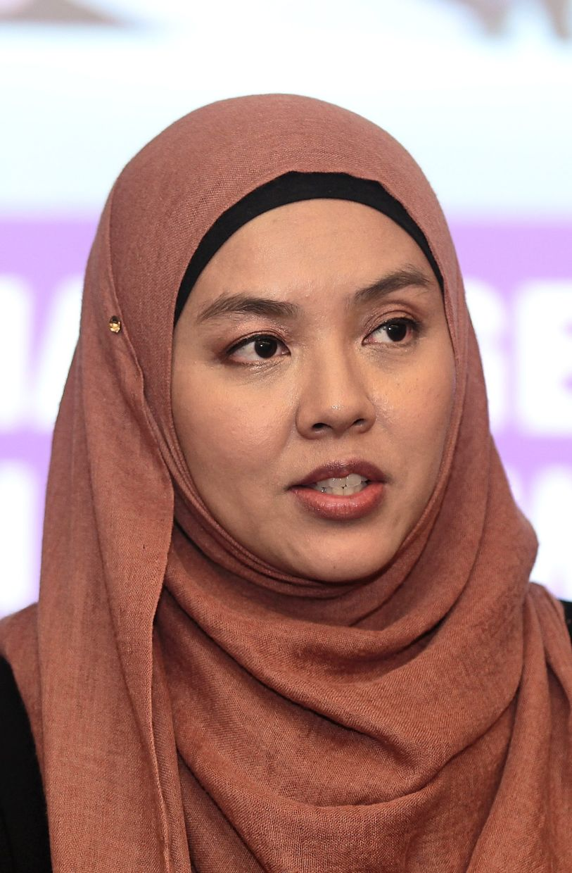 Anita: Suicide cases in Malaysia are likely underreported 'largely due to the stigma attached to struggles with mental health issues'. — Filepic/The Star