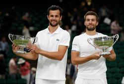 Tennis-Mektic and Pavic become first all-Croatian pair to triumph at Wimbledon