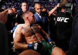 Mixed Martial Arts-McGregor breaks leg in latest UFC loss to Dustin Poirier
