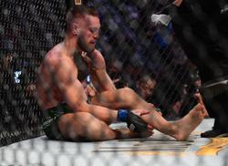 Mixed Martial Arts-McGregor future in doubt after freak leg break
