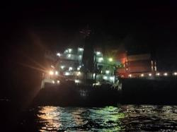 Steering system failure may be cause of tanker, cargo ship collision