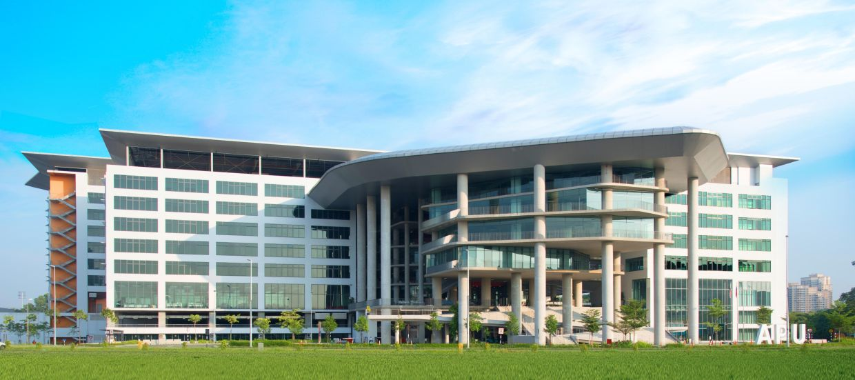 The Asia Pacific University of Technology and Innovation (APU) purpose-built campus with ultra-modern design is strategically located in Technology Park Malaysia (TPM), Kuala Lumpur.