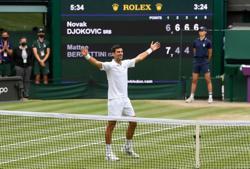 Tennis-Reaction to Djokovic winning Wimbledon men's title