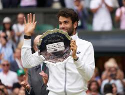Tennis-Berrettini confident of one day winning title at Wimbledon
