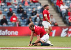 Rugby-Lions coach Gatland poised to make decision on Alun Wyn Jones