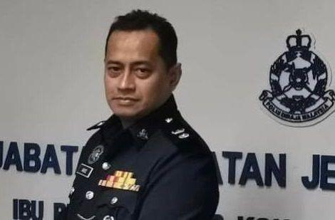 Negri Sembilan CCID chief Supt Aibee Ab Ghani