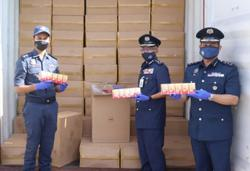 More than 10 million illegal ciggies seized at West Port