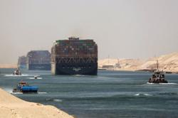 Ever Given container ship leaves Egyptian waters: source