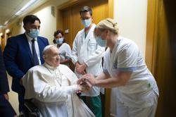 Pope Francis to leave hospital as soon as possible, says Vatican