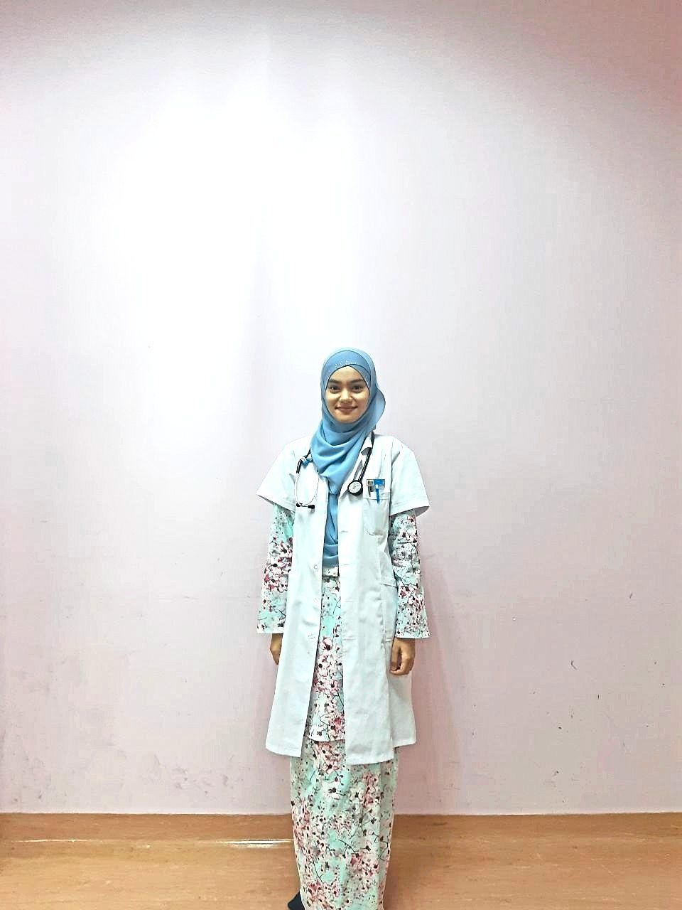 Rawiah has graduated with a medical degree from Universiti Sains Malaysia in Kubang Kerian.