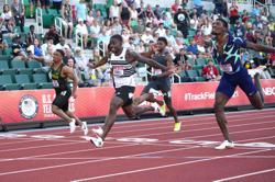 Athletics-Tokyo favourite Bromell cruises to Diamond League win