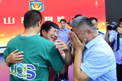 Family in China reunited with kidnapped son after 24-year search